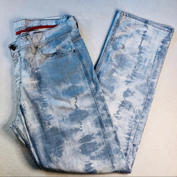 2cc39bc3e91356 Jordan Craig Other - Jordan Craig 38x34 Bleached Tie Dye Slim Fit Jean